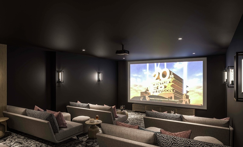 Your screening room at Three Waters
