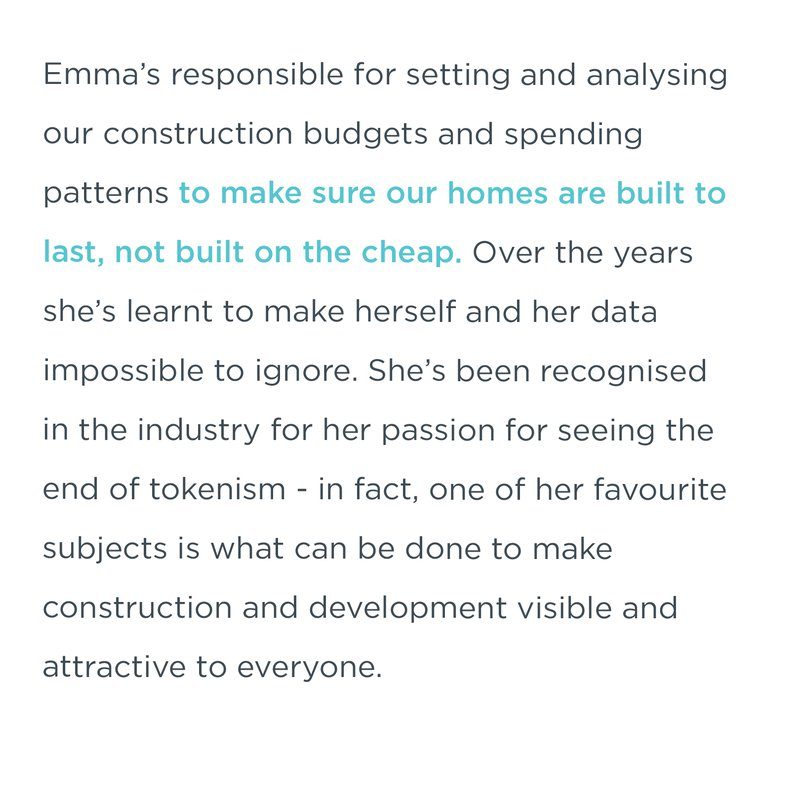 Emma Norris, Head of Cost Planning