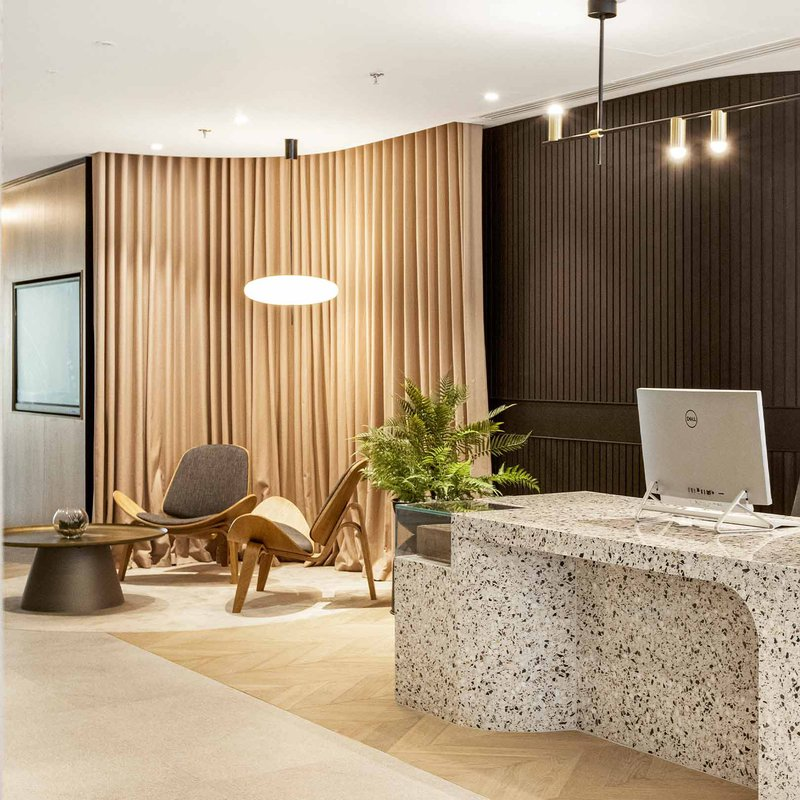 Inside our Barbican office