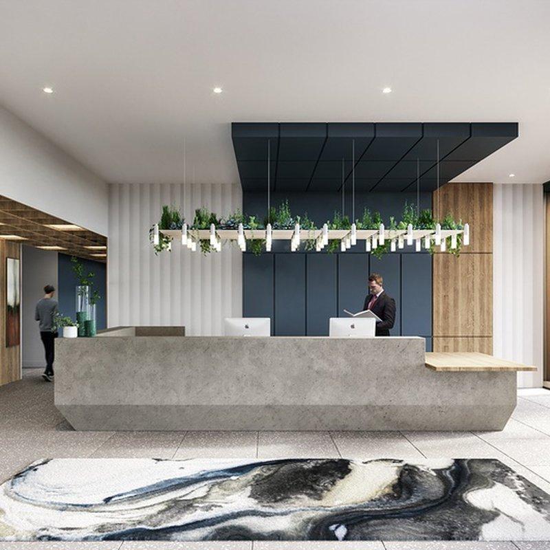 Concierge and flexible workspace