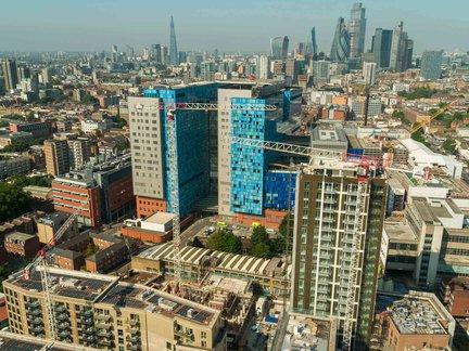 The latest build progress from Whitechapel