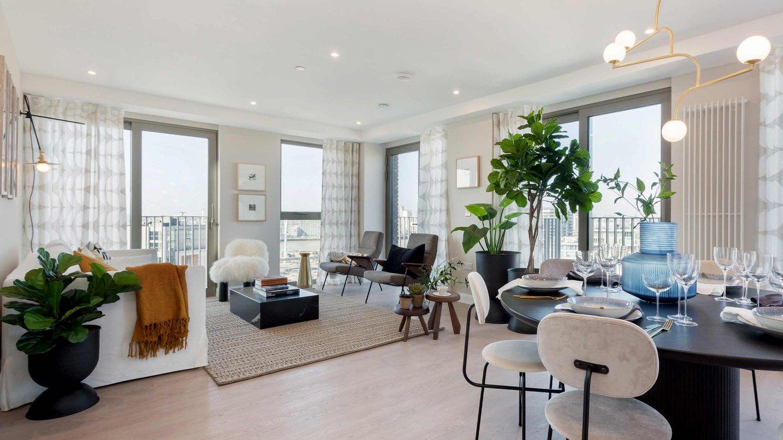 Photo of three-bedroom show apartment