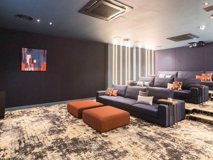 Exclusive resident amenities now complete at The Silk District