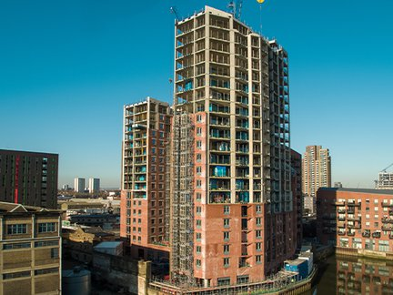 The new year brings more build progress in Bow
