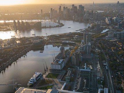 What's life like living on the Royal Docks?