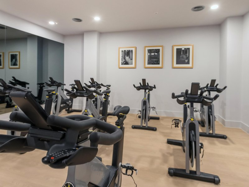 Spin room