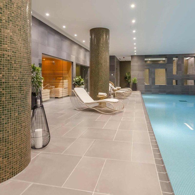 Pool, sauna, spa & gym