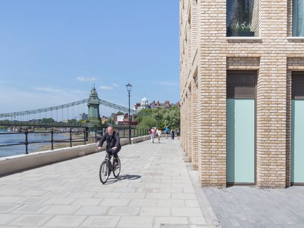 Hammersmith's award-winning riverside walkway