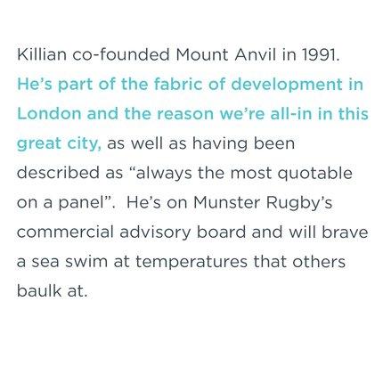 Killian Hurley, CEO